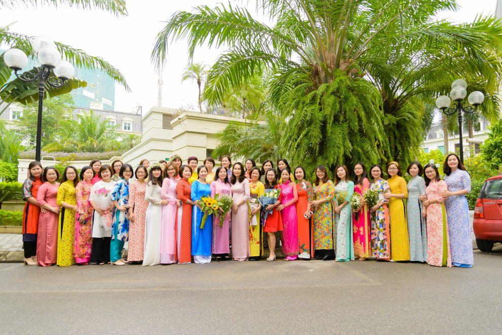 Congratulation for Vietnamese Women Day at Hanoi Office