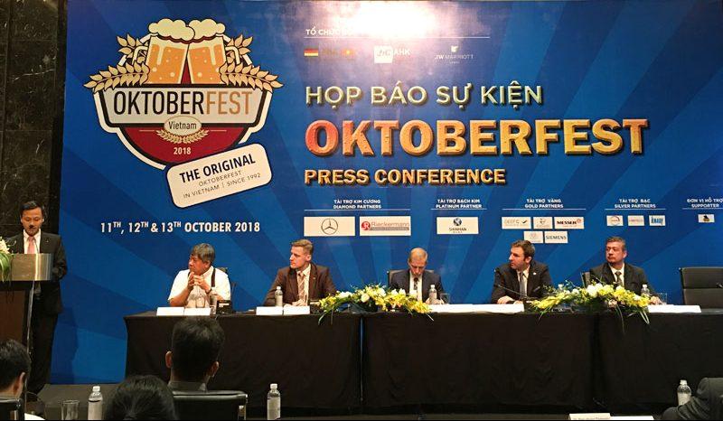 Lễ hội Bia Oktoberfest tổ chức thường niên tại JW Marriott Hanoi