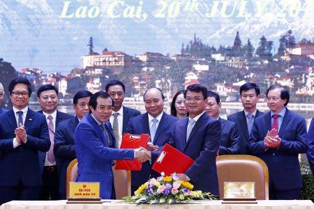 Bitexco ký kết đầu tư chiến lược vào tỉnh Lào Cai